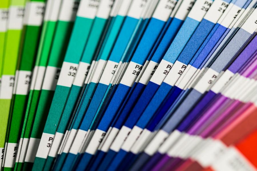 échantillons de palette de couleurs