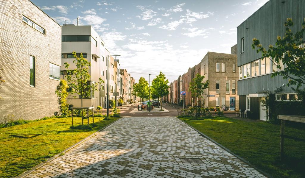 plan de visualisation d'un futur quartier